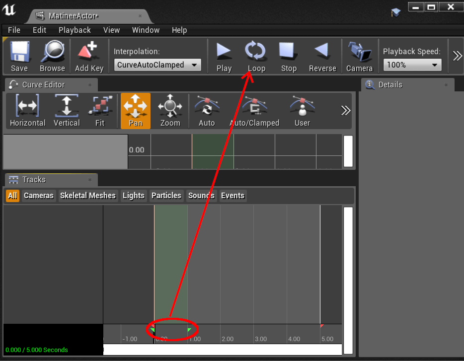 ue4 loopsection
